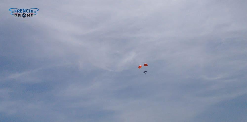Dji inspire 1 declenchement parachute