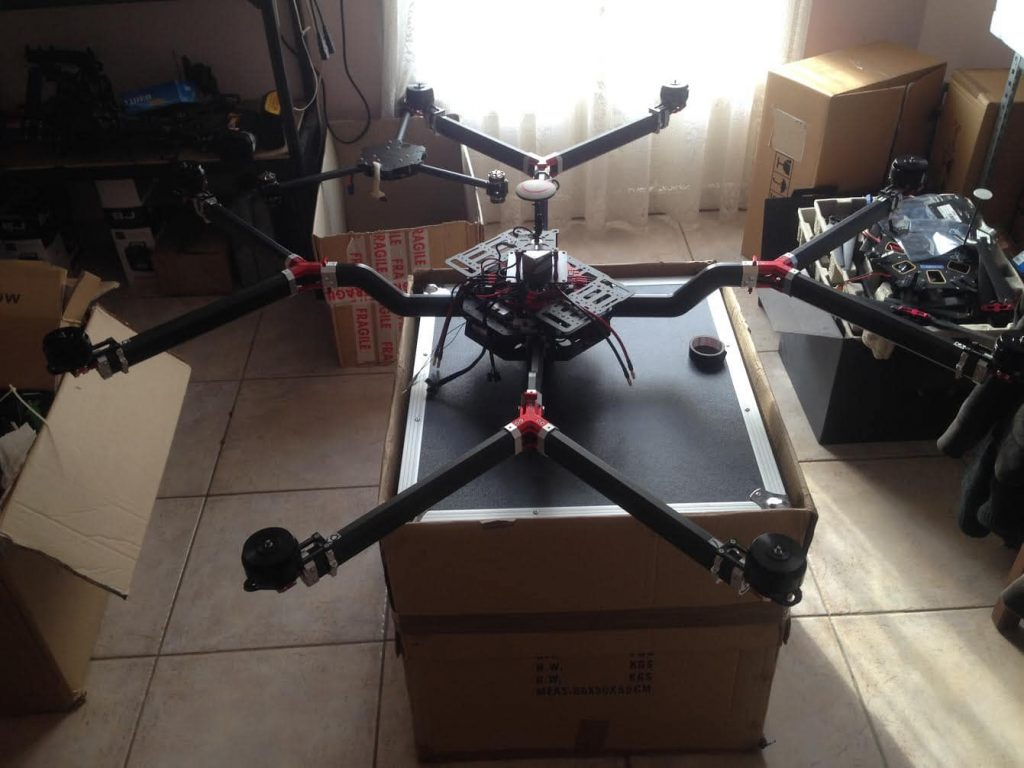 Gryphon octocopter FX1400