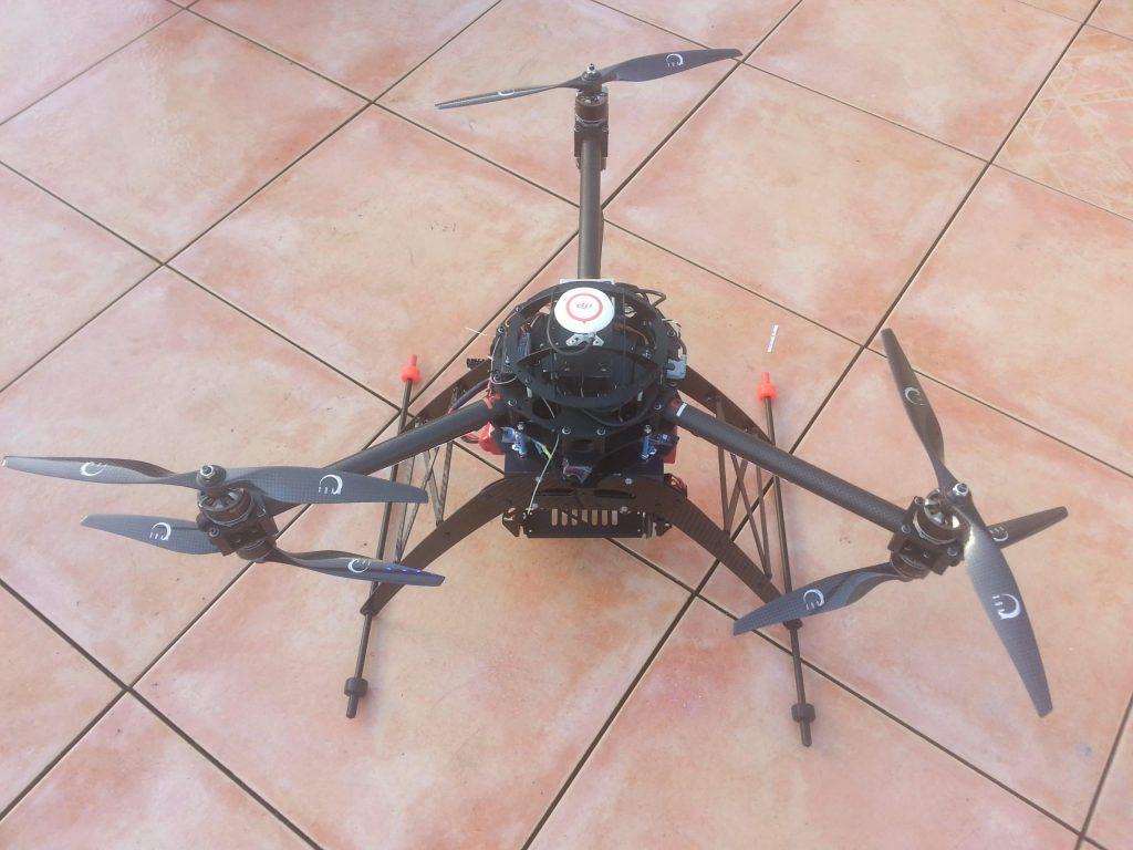 Hexacopter Y6 pro Atom S