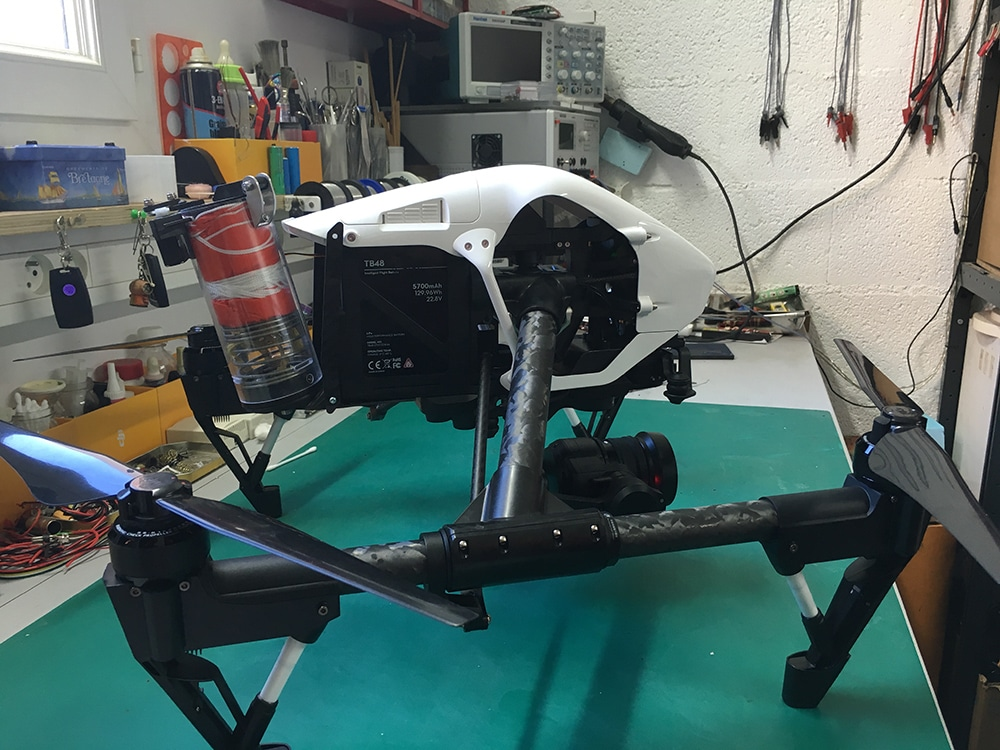 Inspire 1 PRO S3 By Frenchidrone