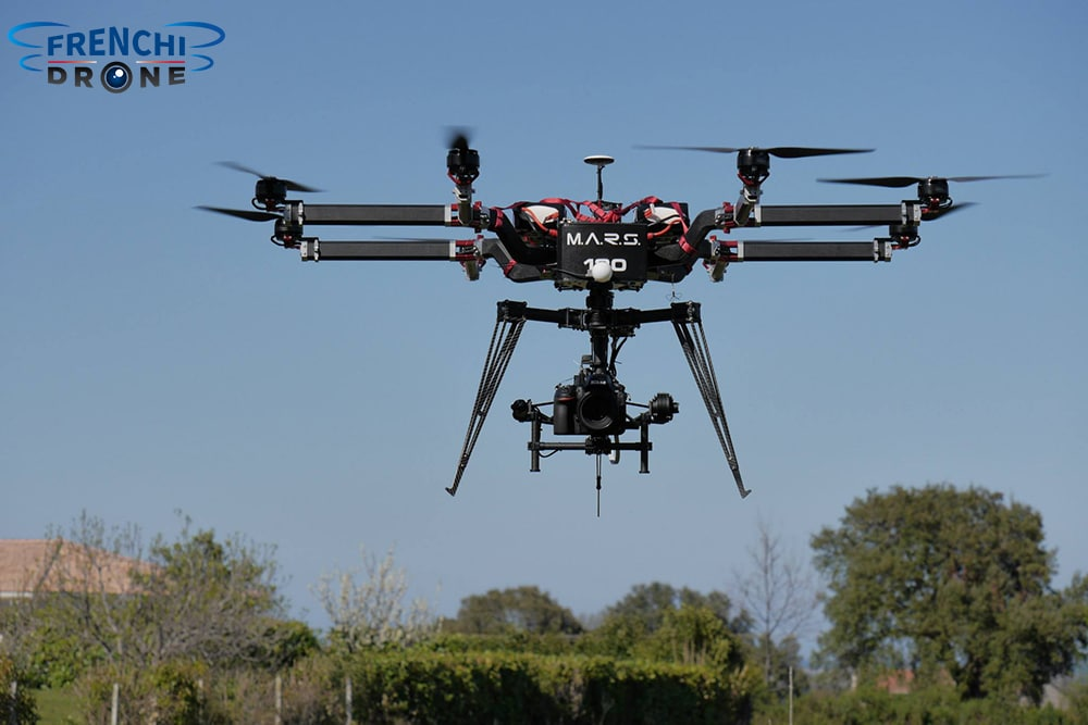 Octocopter Gryphon Fx 1400 Frenchidrone