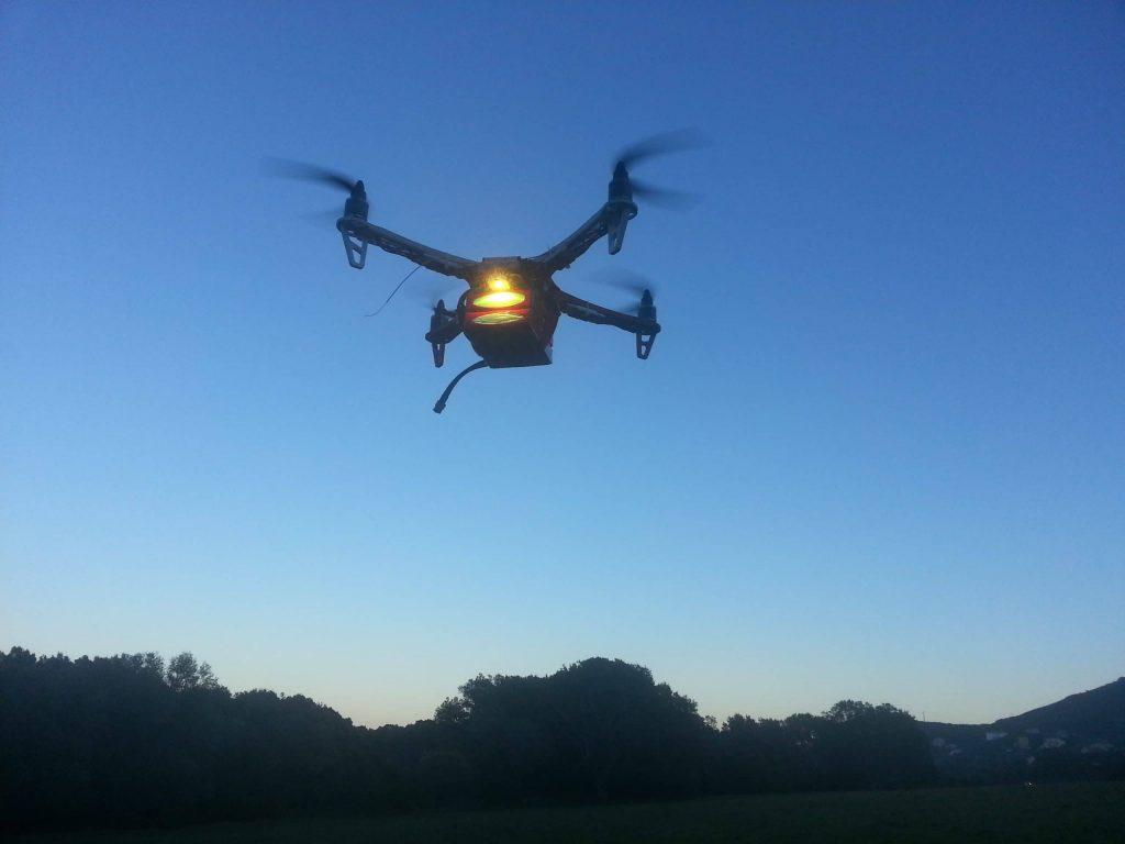 essai Quadcopter f450