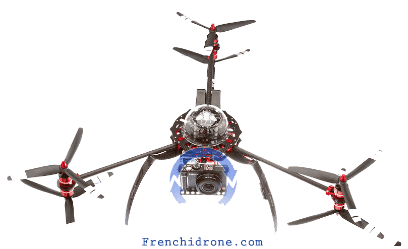 y6 hexacopter - frenchi drone