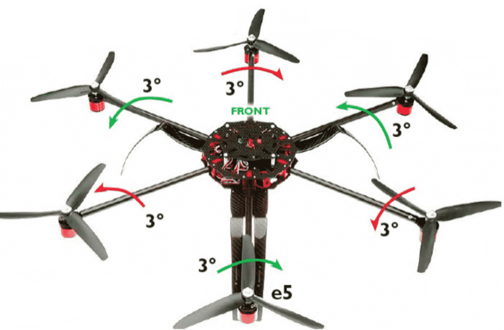 hexacopter - frenchi drone