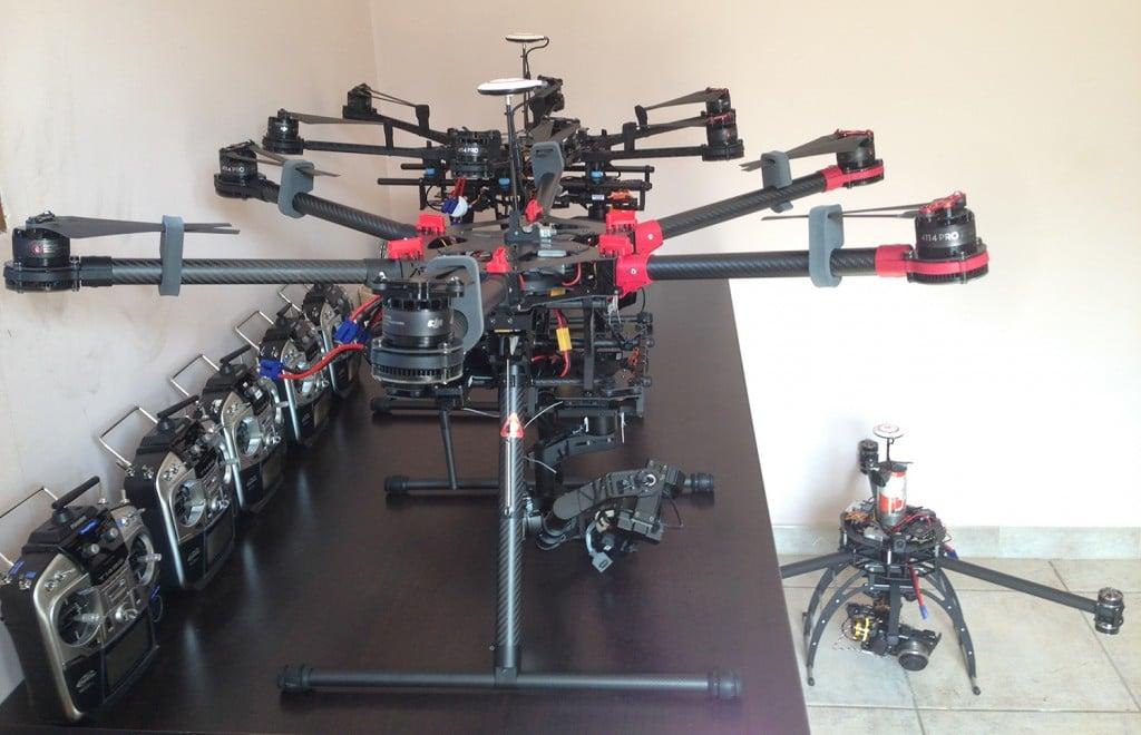 DJi S900 et S800 EVO