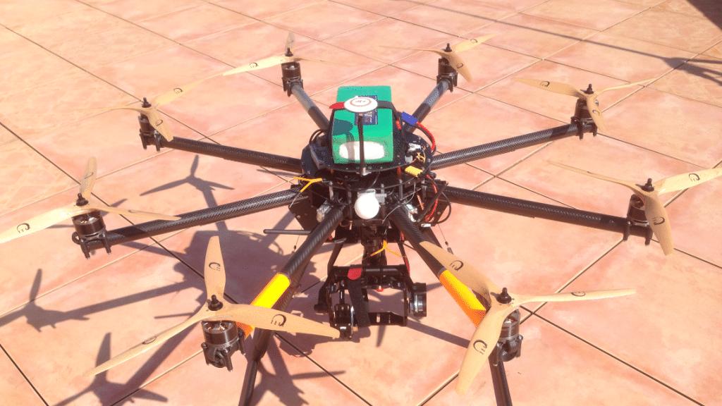 Drone Romain Vimana