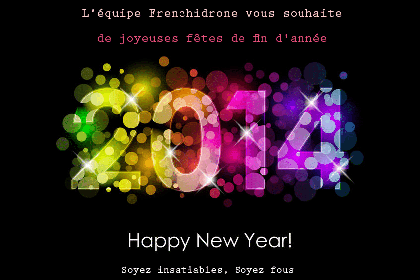 Frenchidrone excellente année 2014