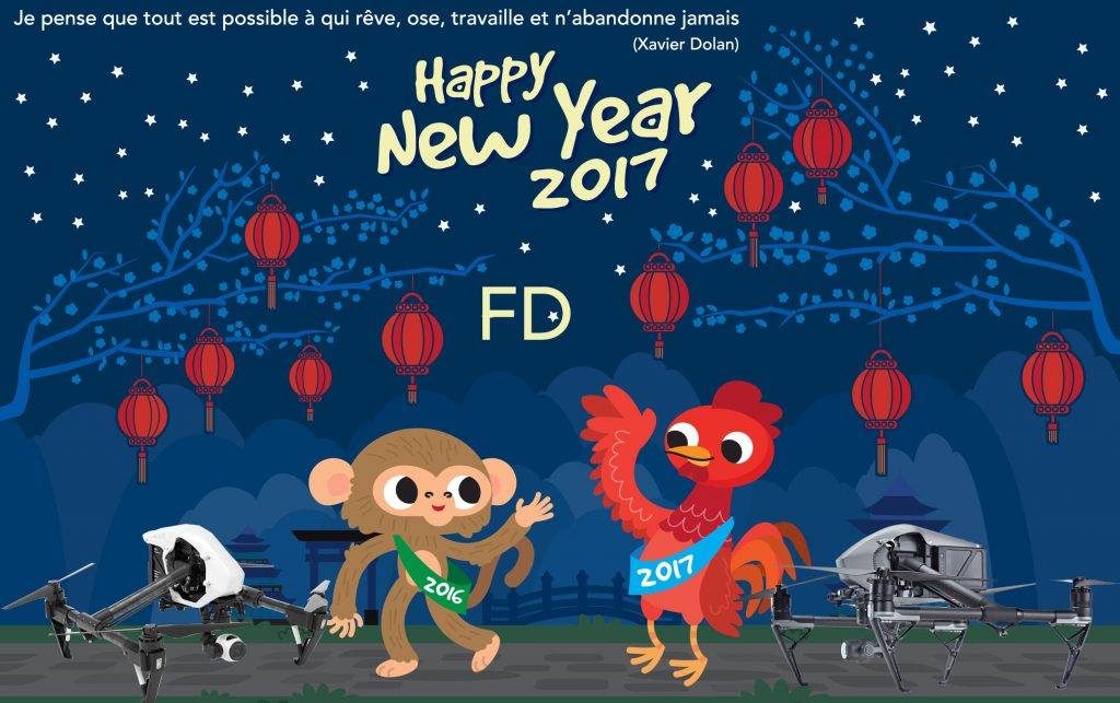 Flat Chinese New Year Background 02