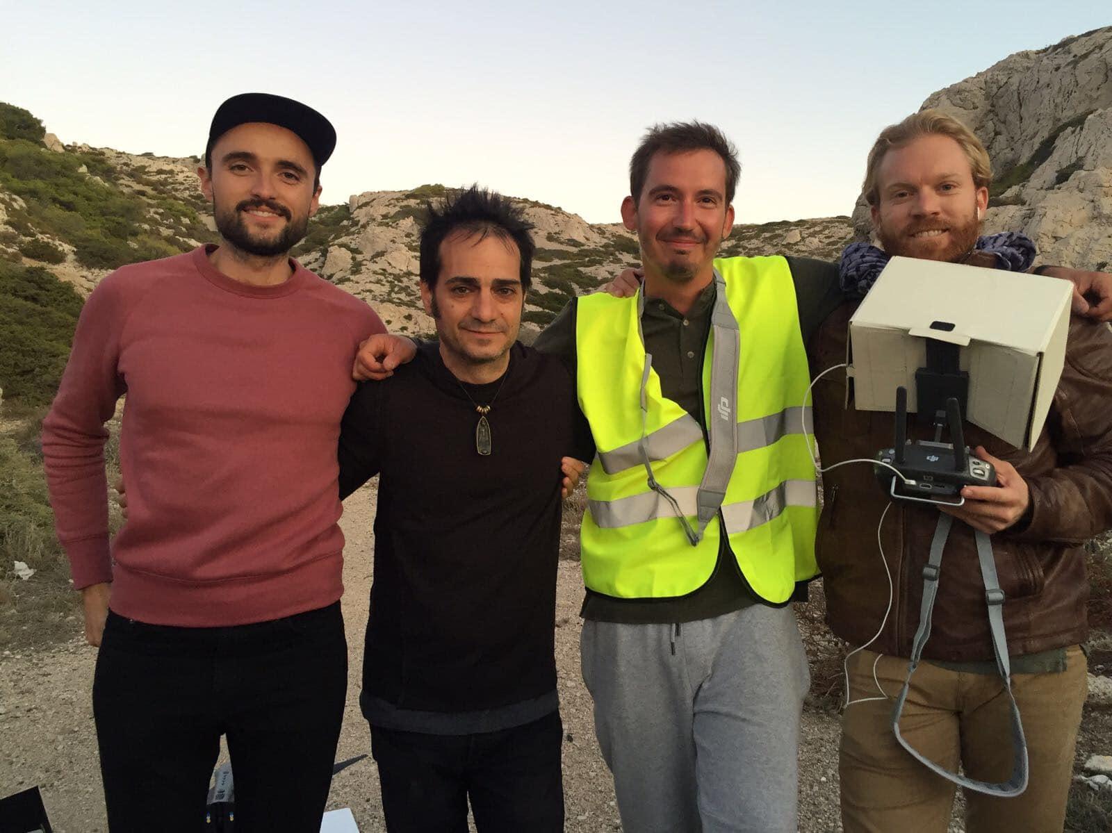 tournage drone marseille