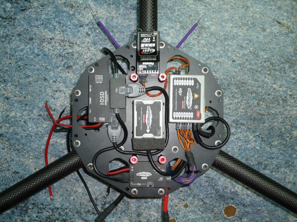 Montage Drone Neutrino