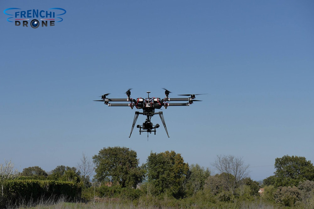 Octocopter Gryphon Fx 1400