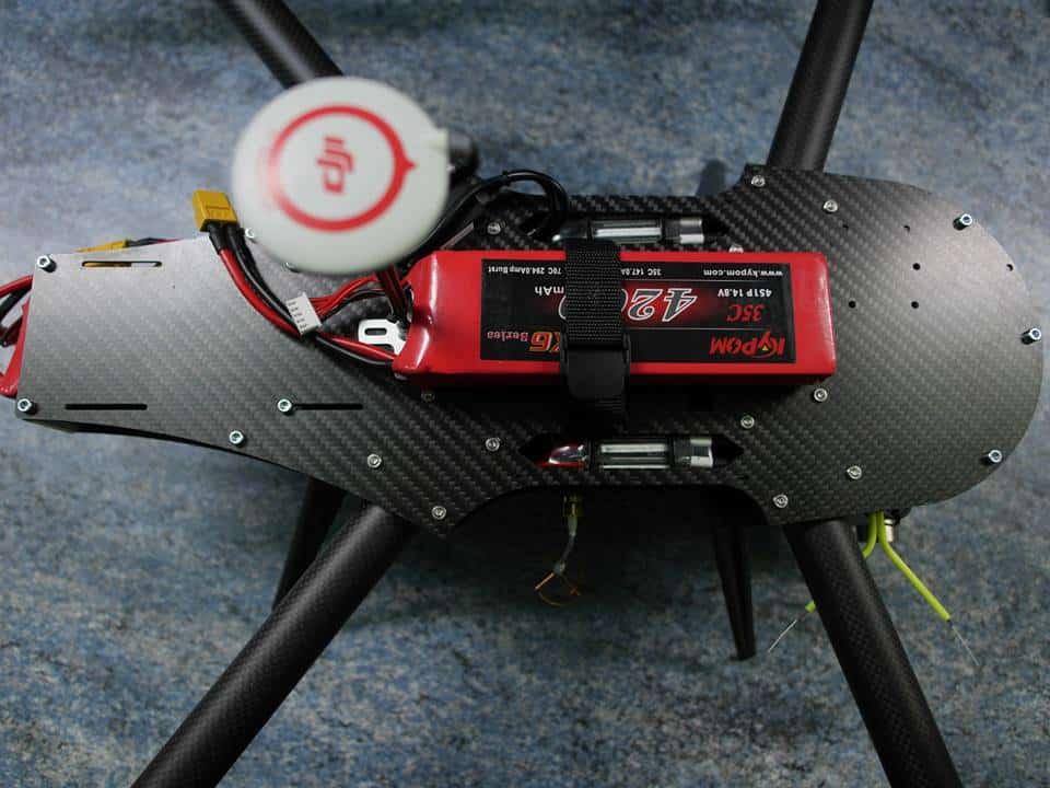Spyder 4 vue de dessus