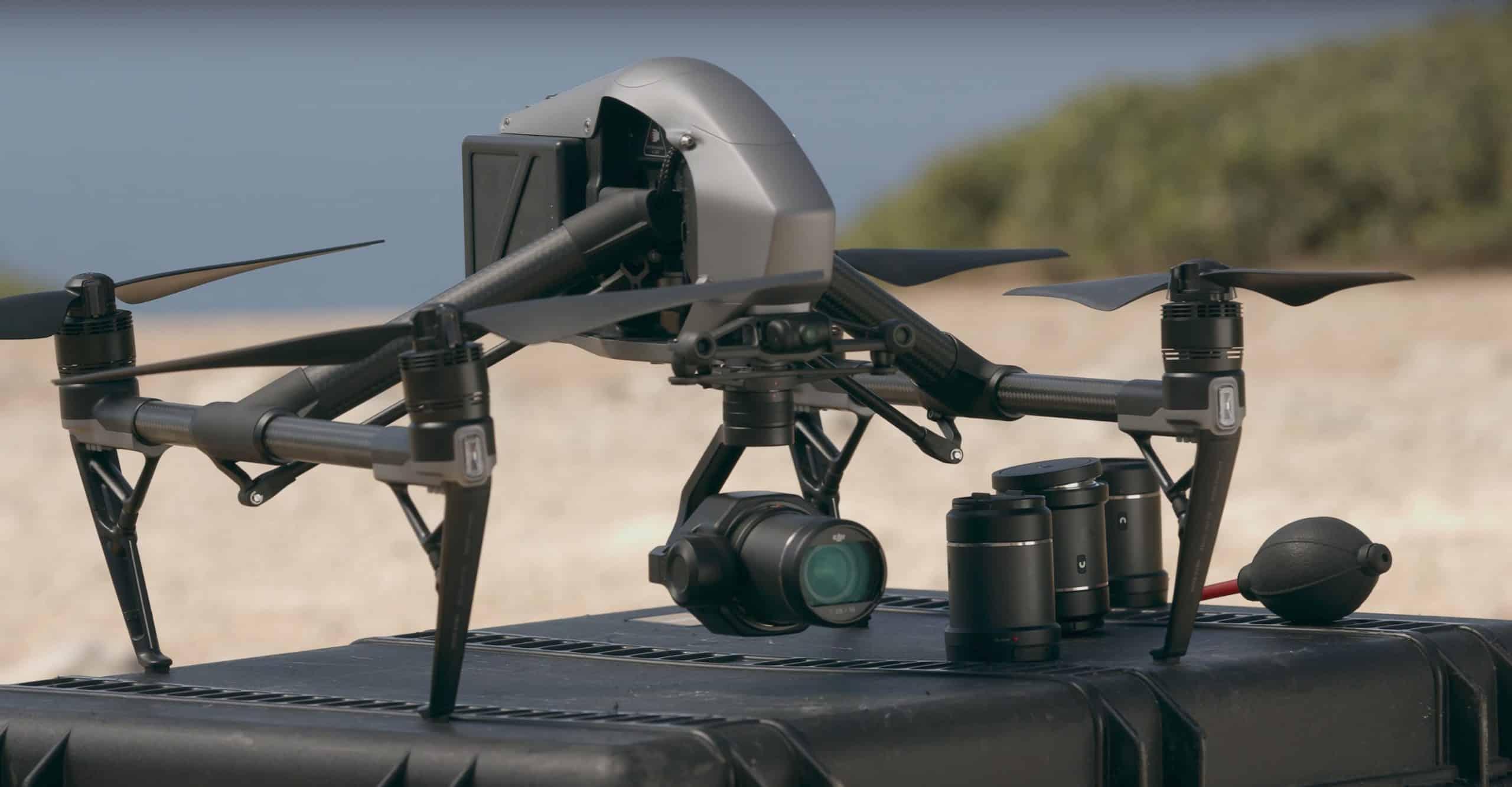 location drone dji inspire 2