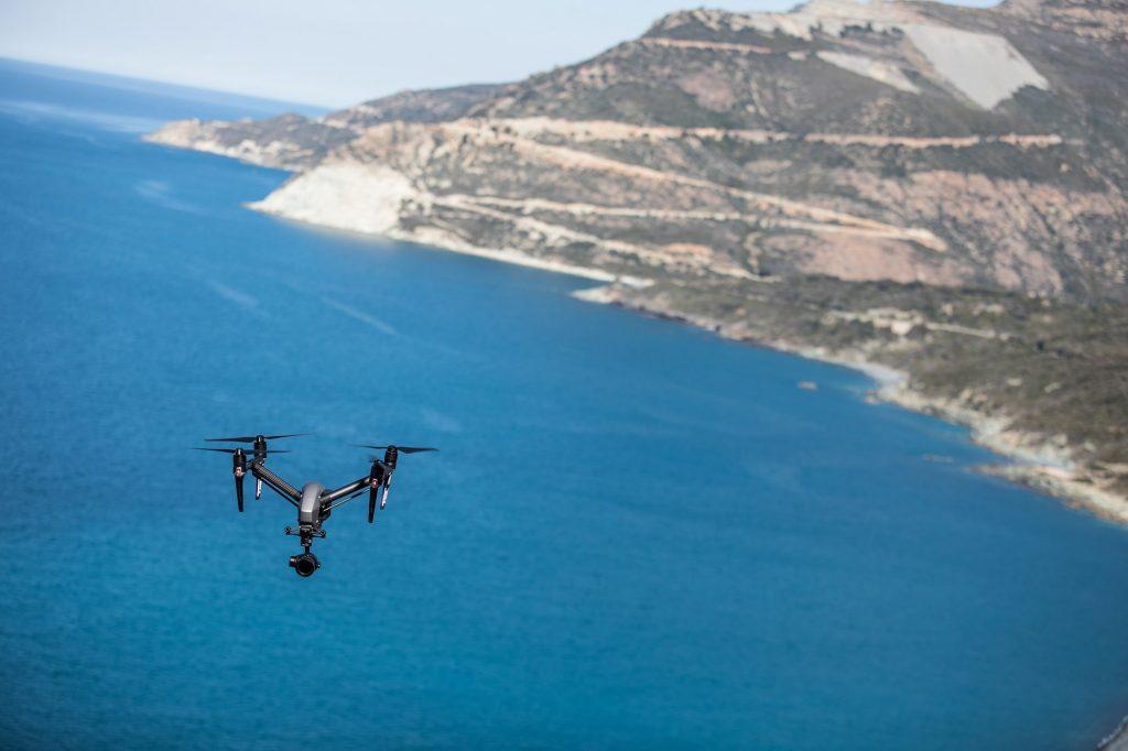 Tournage Drone cap Corse