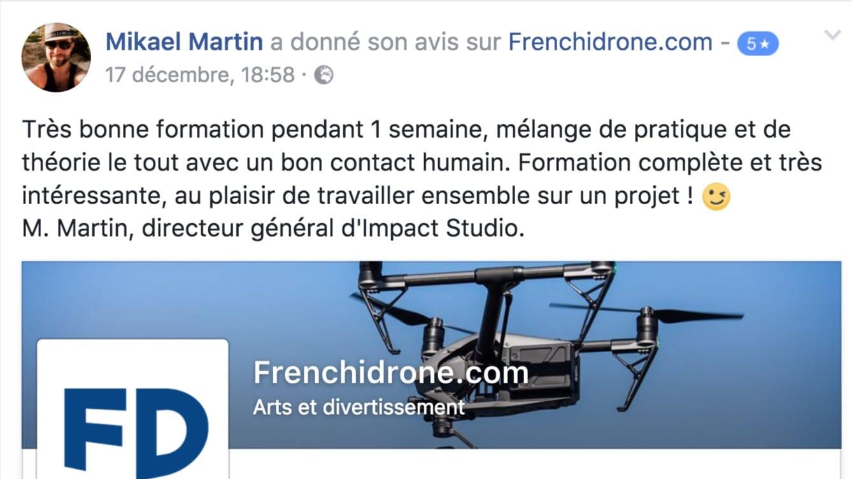 Avis-client-Frenchidrone-formation-télé-pilote-drone