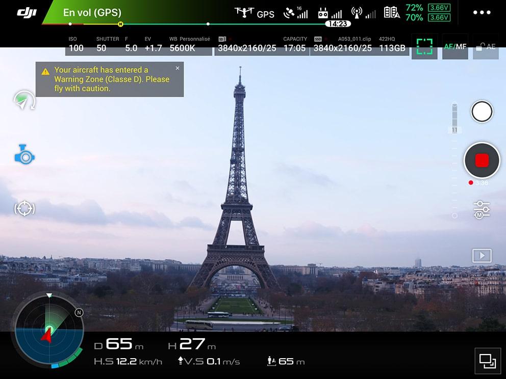 Frenchidrone-tour-Eiffel