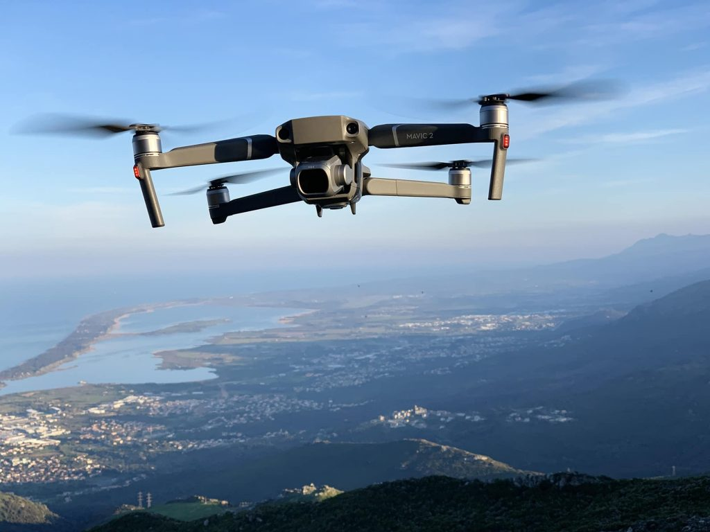 Drone mavic 2 pro en vol