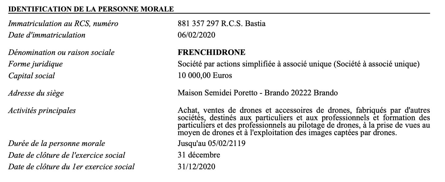 SAS-Frenchidrone