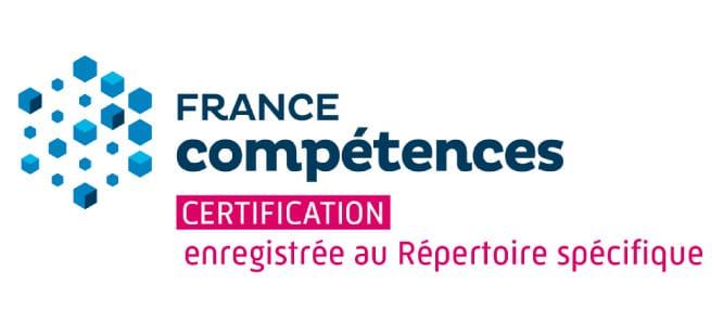 Logo certification France compétences